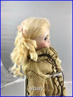 11 Antique German Bisque Shoulder Head Fashion Doll! Elegant! 17731