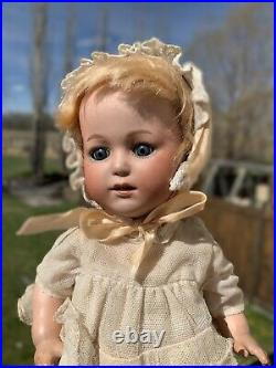 11 Gebruder Heubach 10562 Bisque Head Toddler Doll Perfect For A Cabinet