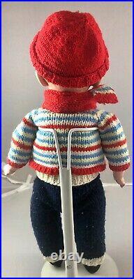 14 Antique German Bisque Heubach 8774 Shoulder Head Whistling Boy Doll! 18047