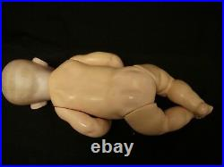 16 Character Kestner German Bisque Head Baby Doll, Solid Dome, Good Condition