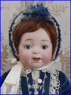 16 tall Adorable rare c1920 Morimura Character Toddler bisque head doll