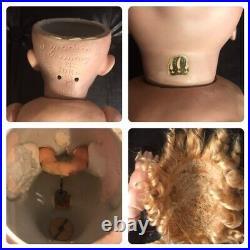 18 Antique German Bisque Head 237 Kestner Hilda Doll Rare Toddler Body