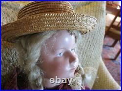19 RARE Antique Cuno & Otto Dressel Character Doll Mkd Head & Body