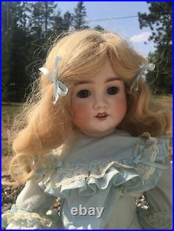 1906 Schoenau & Hoffmeister 28 Doll Bisque Head & Composition Jointed Body