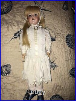 20 Antique German Bisque Head Doll S&H 1249 Santa Elegant