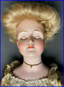 20 GIBSON GIRL Doll J. D. Kestner # 172-5 Bisque-Head German Antique JDK