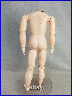 22 antique German composition Doll Body (no head) dollmaking repair parts TLC