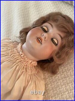 24 1909 Schoenau Hoffmeister Doll, Bisque Head Composition Body