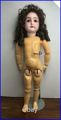 24 Antique Kestner Doll Bisque Head Ball Jointed Body John Wanamaker