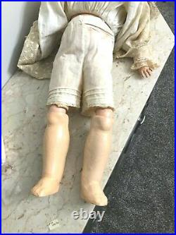 24 Character Child Doll Made in Germany 63 Bisque Head Wood Body