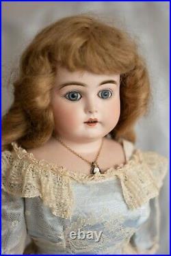 25 Bisque Antique Turned Shoulder Head KESTNER L Doll-Lovely