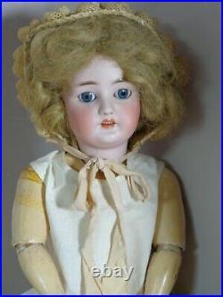 27 Antique Bergmann Simon & Halbig 11 1/2 Germany Bisque Head Doll