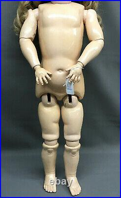 28 Heinrich Handwerck / Simon & Halbig SWEET! Antique Bisque-Head German Doll