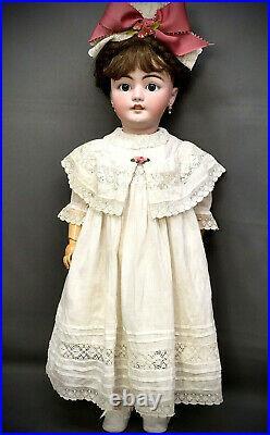 28 Simon & Halbig Child Doll # 1079 EXTRA NICE Antique Bisque-Head German