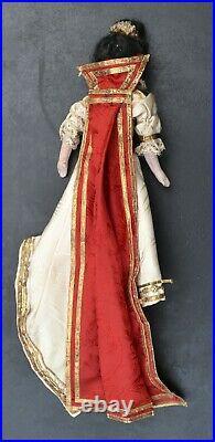 3 ANTIQUE PARIAN DOLLS- German-Bisque-Head/Shoulder/Limbs- ORIGINAL Costume-1885