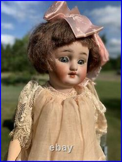 9.5 All Original Minty Simon And Halbig 1078 Bisque Head Doll