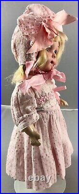 9 Antique German Bisque Head Armand Marseille 200 Googly Doll! Rare! 18044