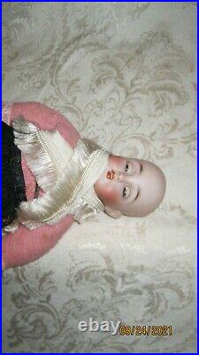 ANTIQUE ALL ORIGINAL SIMON HALBIG 1078 BISQUE HEAD DOLL With BJB 9 TALL NEAR MINT