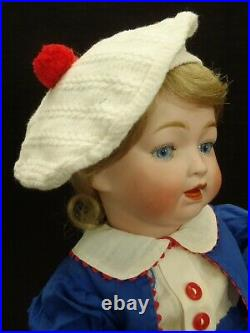 Adorable rare c1920 Morimura Character Baby bisque head doll withvoice MAMA
