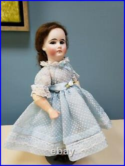 Antique 10 Belton Type Sonneberg French Market Bisque Head Composition Doll
