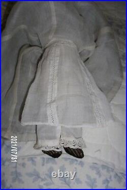 Antique 10 Simon & Halbig S&H Little Women Doll 1160 Bisque Shoulder Head c1900