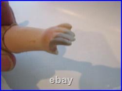 Antique 15 Kestner Turned Shoulder-head Bisque Doll Cloth Body