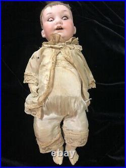 Antique 1900s German Bisque Socket Head Doll Armand Marseille 971 A40M DRGM 267