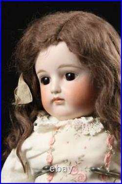 Antique 22 Closed Mouth Turned Head JDK Kestner Doll 1880s Bisque German Rare