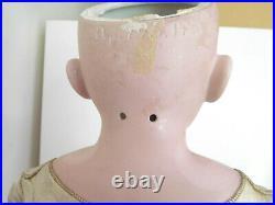 Antique 28 Kestner 195 Shoulder Head Bisque with Fur Brows