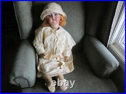 Antique 30 T Doll #80 Simon & Halbig K&r German Bisque Head Composition Body