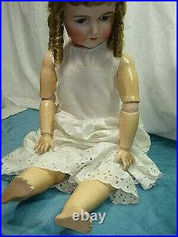 Antique 33 Inch Queen Louise Germany # 15 On Head