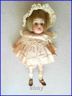 Antique 4.75 KR Kammer & Reinhardt, Simon & Halbig Miniature Bisque Head Child