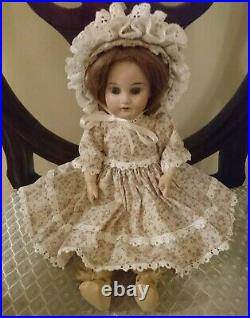 Antique Armand Marseille Bisque Head Doll 1894 Articulated 12 Inch Dep
