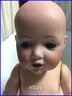 Antique Baby HILDA 237 Original Kestner 11 Bisque Head Circa 1914
