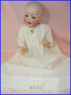 Antique Bisque Dome Head Baby VTg 1912 Character Hertel & Schwab 151 5 14