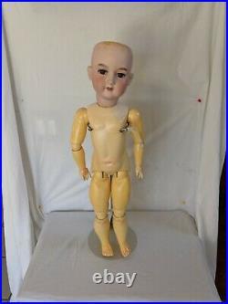 Antique Bisque Head Doll Armand Marseille 390 No Cracks Sleep Eyes High End