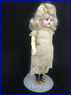 Antique Bisque Head Doll WALKER 6-1/2 Made in Germany 70 Compo Body