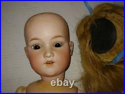 Antique Bisque Head George Borgfeldt GB Doll Germany 24 inch