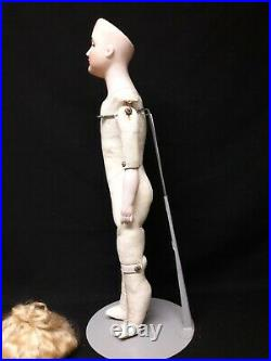 Antique Bisque Head Kestner Gibson Girl, Undressed