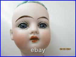 Antique ERNST HEUBACH 11 1/2 Bisque head compo body 1900 9/0 Horseshoe Mark