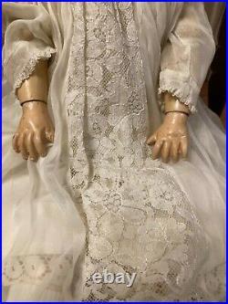 Antique Gebruder Kuhnlenz Gk 165 Doll. 20 235 Back Of Head. 6 Germany