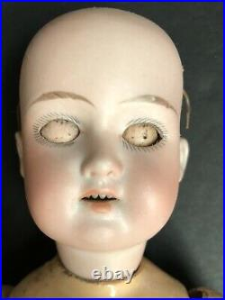 Antique German 10.5 Armand Marseille Floradora Bisque Head Doll Comp. Body