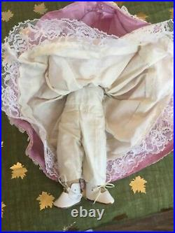 Antique German 12 Armand Marseille Mabel Bisque Head Doll With Teeth