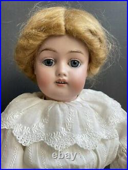 Antique German 16 Kestner 168 Child Girl Bisque Head Doll Composition Body