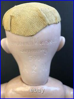 Antique German 17 Armand Marseille 390 Bisque Head Doll Comp Body