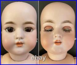 Antique German 18 Simon Halbig SH 1079 Dep Bisque Head Doll