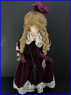 Antique German 21 Armand Marseille Queen Louise Bisque Head Doll