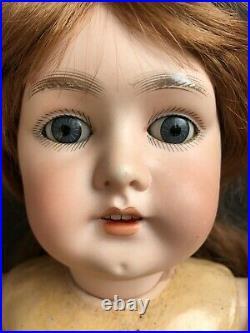 Antique German 22 Armand Marseille  Princess Bisque Head Comp. Body Doll