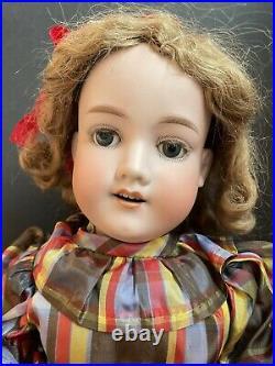Antique German 23 Armand Marseille 390 DRGM Bisque Head Comp. Body Doll