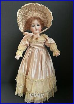Antique German 23 Queen Louise Bisque Head Doll
